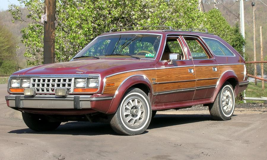 Ugliest cars ever - AMC Eagle