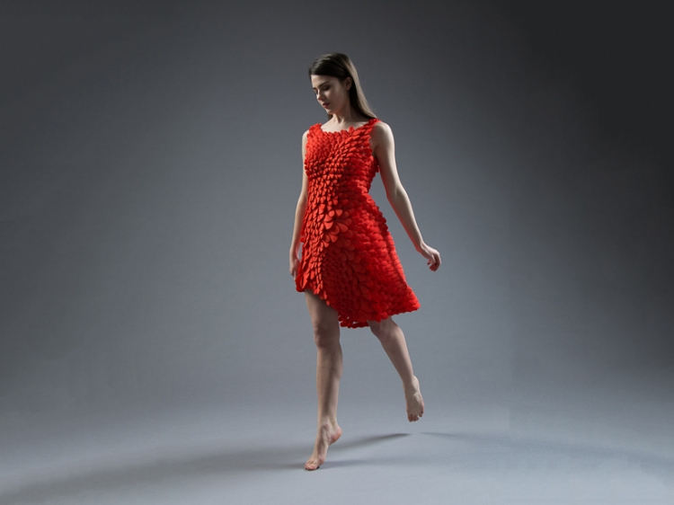 3d printed dress dance