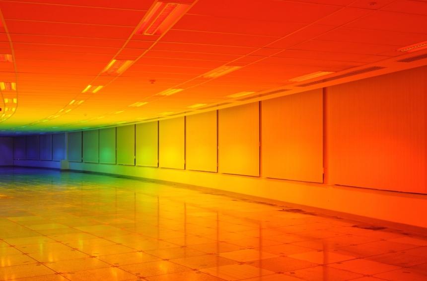 What It's Like to Live Inside a Rainbow // Moss and Fog