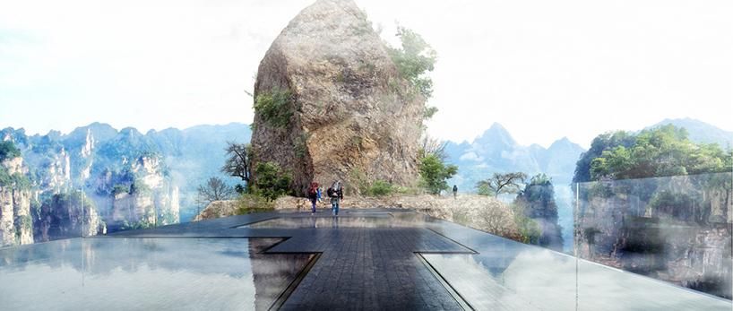 martin-duplantier-architectes-zhangjiajie-pavilions-lookout-china-moss-and-fog-3