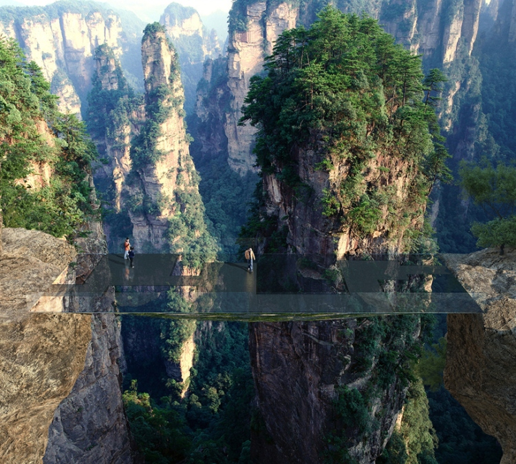 martin-duplantier-architectes-zhangjiajie-pavilions-lookout-china-moss-and-fog