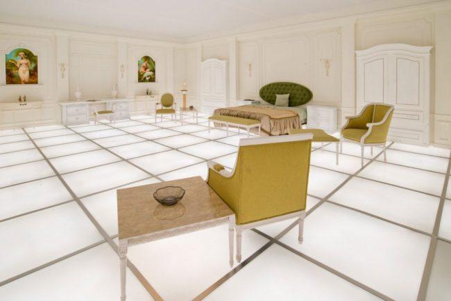Simon Birch's perfect replica of the room in 2001: A Space Odyssey
