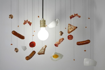 Cornelia Parker inspired hanging items