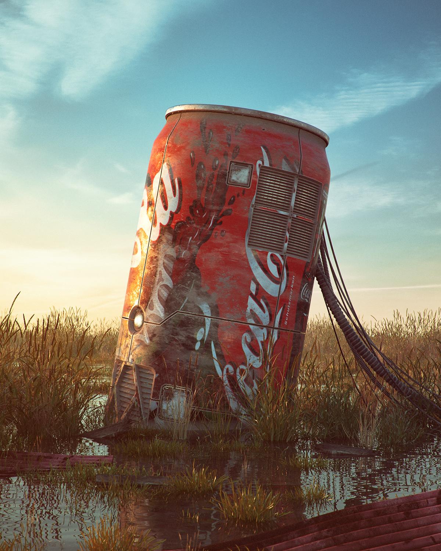 pop culture dystopia by Filip Hodas